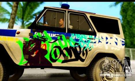 UAZ hunter 315195 for GTA San Andreas