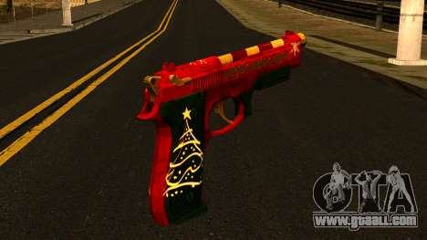 Christmas Gun for GTA San Andreas second screenshot