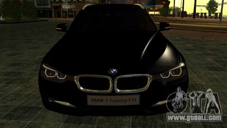 BMW 3 Touring F31 2013 1.0 for GTA San Andreas right view