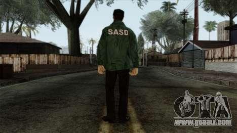 Police Skin 1 for GTA San Andreas second screenshot