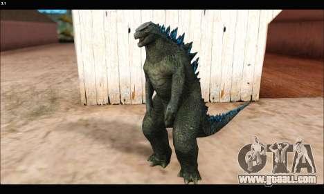 Babyzilla 2014 (Godzilla) for GTA San Andreas second screenshot