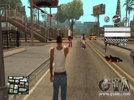 C-HUD Gray for GTA San Andreas forth screenshot