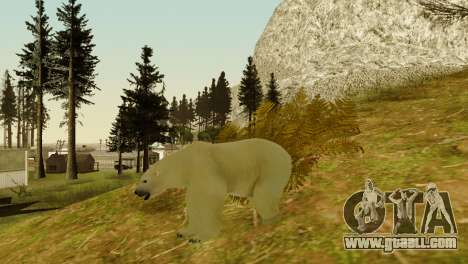 The possibility of GTA V to play for animals for GTA San Andreas eighth screenshot