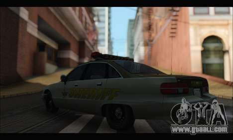 Chevrolet Caprice 1991-1993 RCSD for GTA San Andreas left view