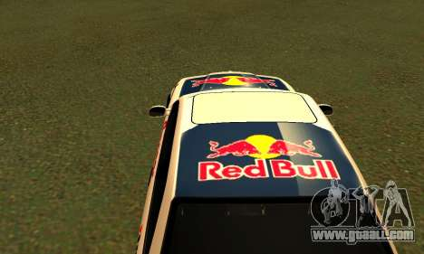 BMW M3 E36 RedBull for GTA San Andreas back view