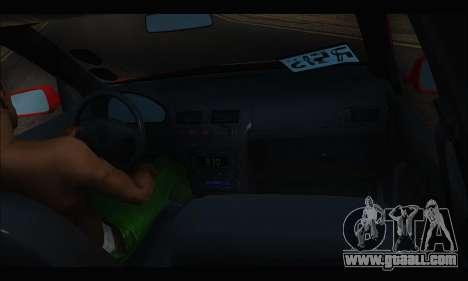 Volkswagen Bora for GTA San Andreas back view