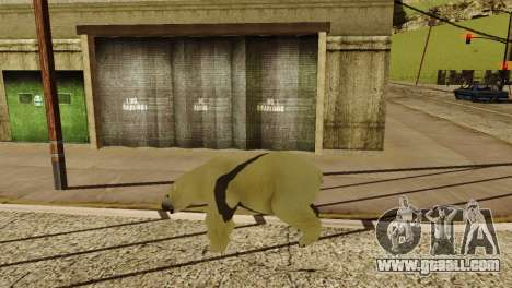 The possibility of GTA V to play for animals for GTA San Andreas ninth screenshot