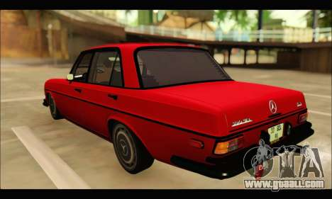 Mercedes 300SEL Air for GTA San Andreas back left view