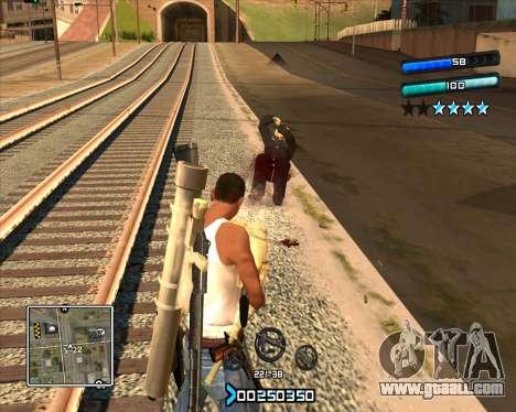 C-HUD Super Cull for GTA San Andreas
