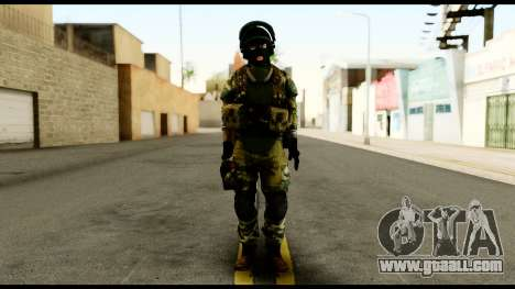Support Troop from Battlefield 4 v3 for GTA San Andreas