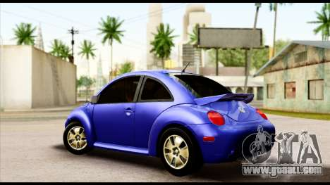 Volkswagen New Beetle for GTA San Andreas left view