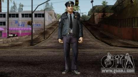 Police Skin 6 for GTA San Andreas