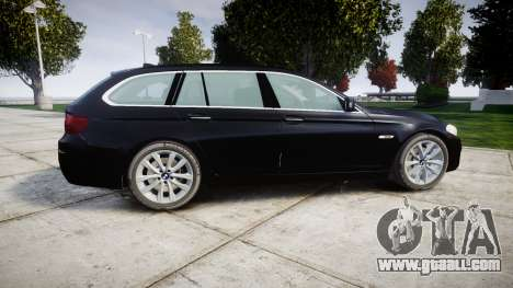 BMW 525d F11 2014 Facelift Civilian for GTA 4 left view