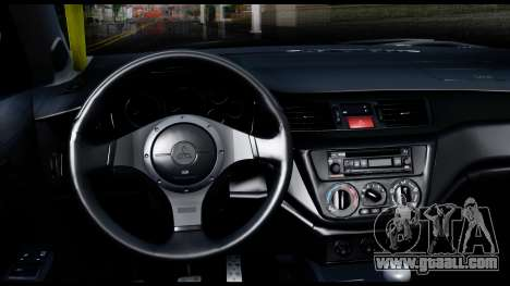 Mitsubishi Lancer Evo 9 for GTA San Andreas right view