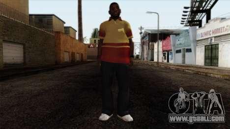 GTA 4 Skin 90 for GTA San Andreas