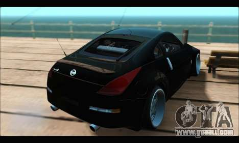 Nissan 350Z Rock for GTA San Andreas left view