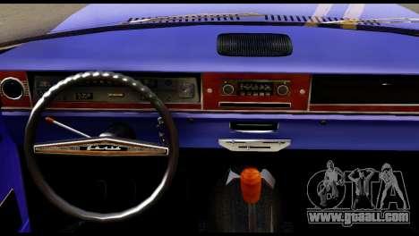 GAZ 24 Volga Lowrider La Riders for GTA San Andreas back left view