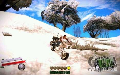 C-HUD v4.0 for GTA San Andreas second screenshot