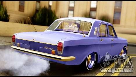 GAZ 24 Volga Lowrider La Riders for GTA San Andreas left view