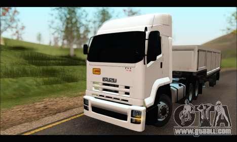 ISUZU FXZ 360 Thailand for GTA San Andreas