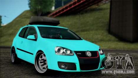 Volkswagen Golf Mk5 for GTA San Andreas