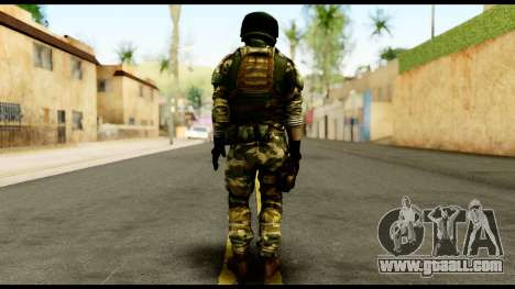 Support Troop from Battlefield 4 v3 for GTA San Andreas second screenshot