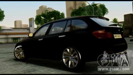 BMW 3 Touring F31 2013 1.0 for GTA San Andreas left view