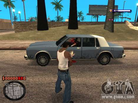 C-HUD Style for GTA San Andreas third screenshot