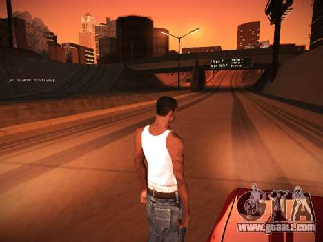 ENB v.14 for GTA San Andreas seventh screenshot