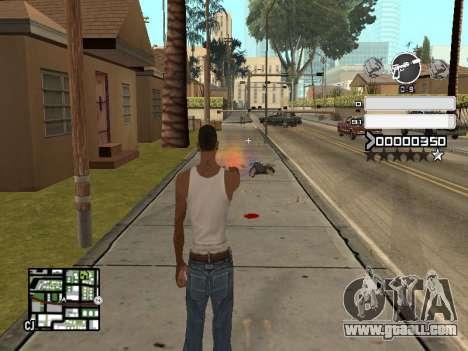 C-HUD Gray for GTA San Andreas third screenshot