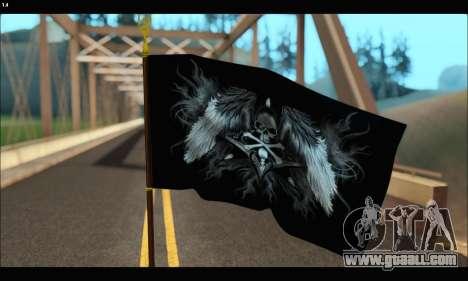 Flag Black Skul for GTA San Andreas second screenshot
