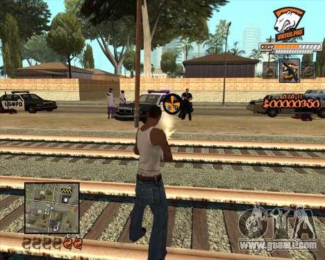 C-HUD Virtus Pro for GTA San Andreas second screenshot