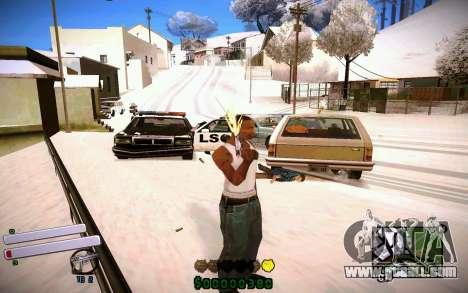 C-HUD v4.0 for GTA San Andreas forth screenshot