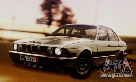 BMW 525 E34 Rims for GTA San Andreas