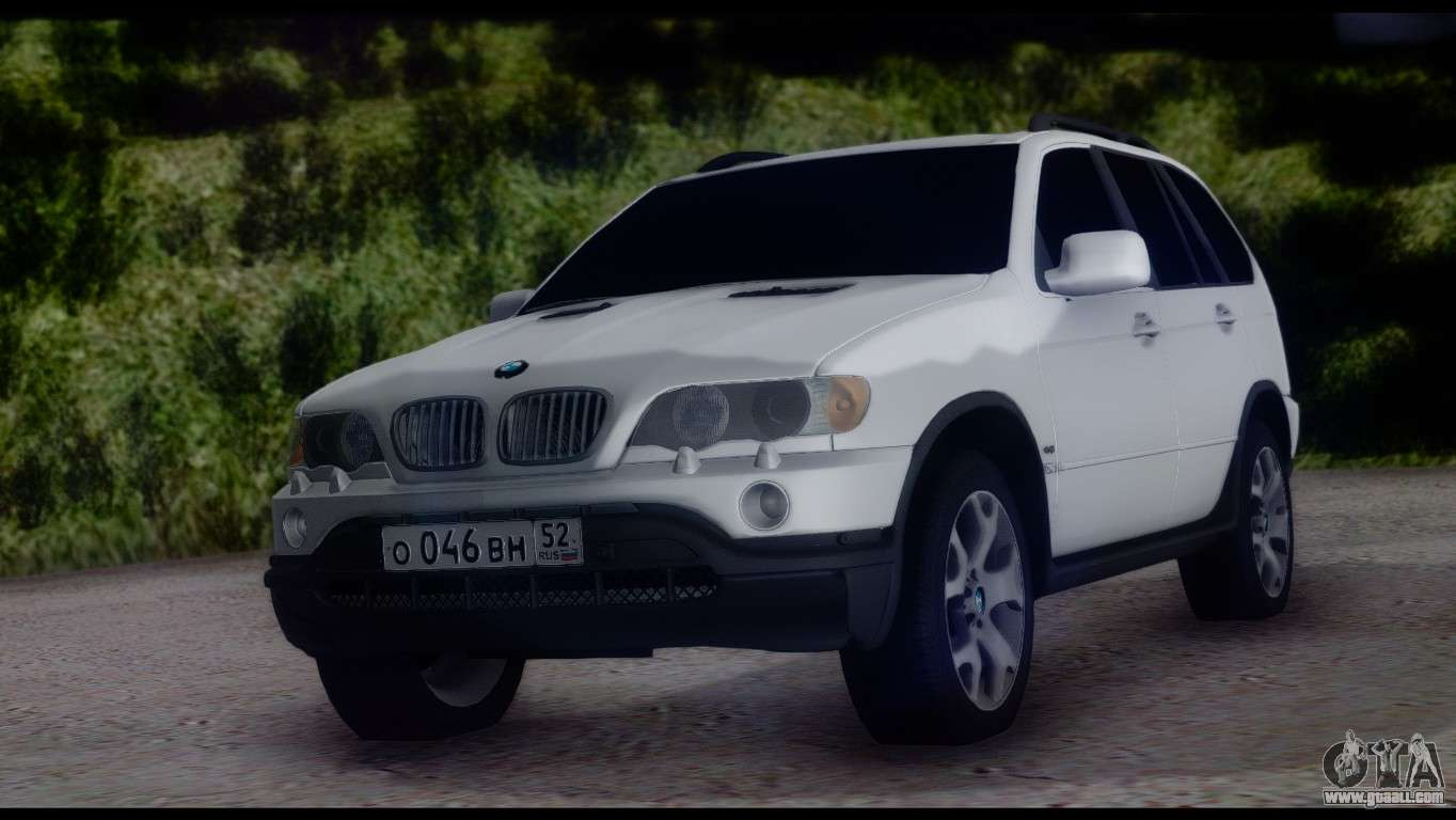 bmw x5 e53 for gta san andreas. Black Bedroom Furniture Sets. Home Design Ideas