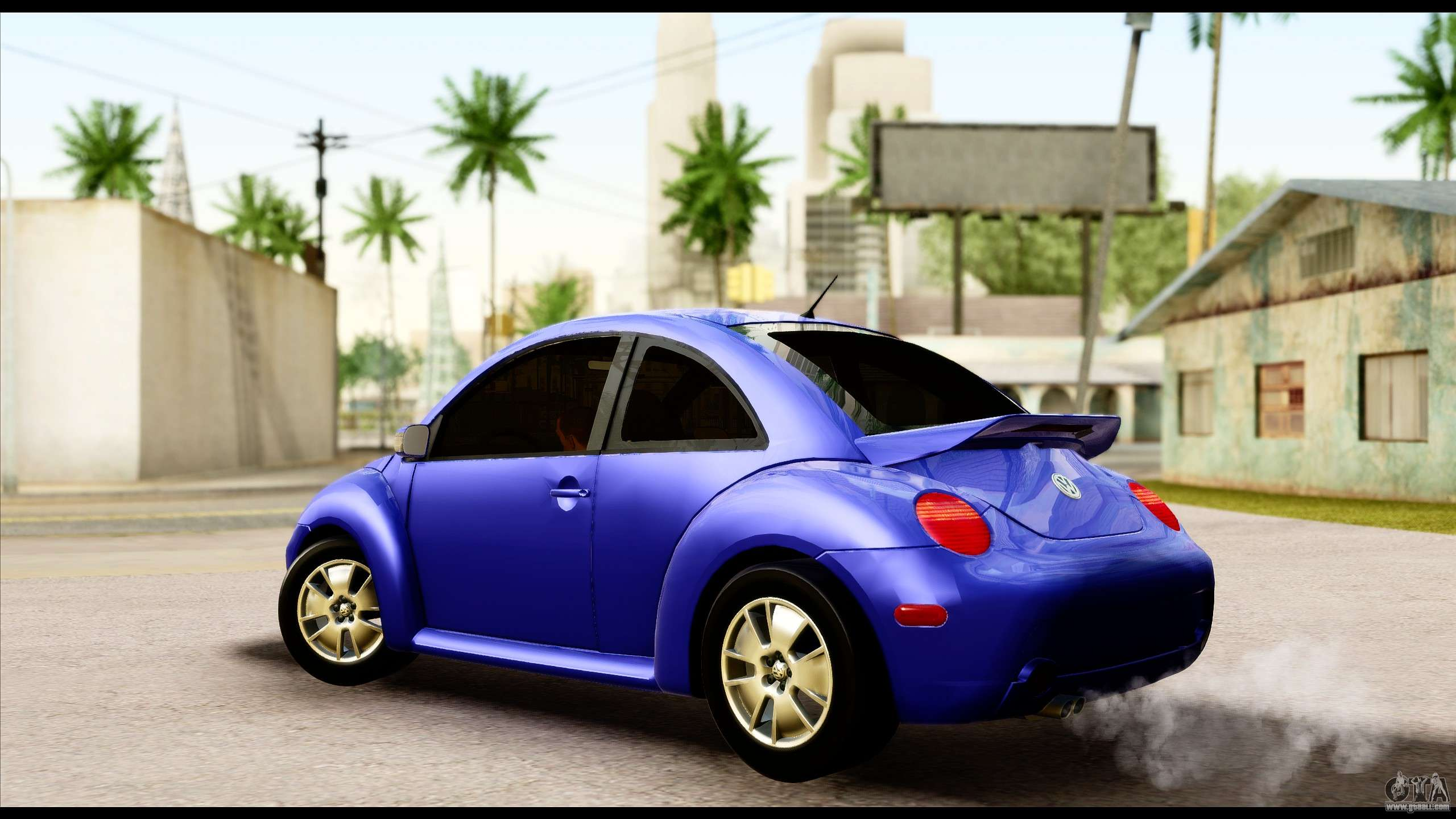 volkswagen new beetle for gta san andreas. Black Bedroom Furniture Sets. Home Design Ideas