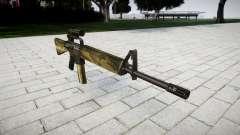 The M16A2 rifle [optical] flora