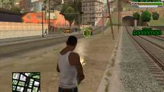 C-HUD for Groove for GTA San Andreas
