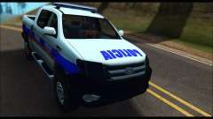 Ford Ranger P.B.A 2015 Text2 for GTA San Andreas