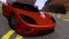 Koenigsegg CCX 2006 Road Version for GTA San Andreas