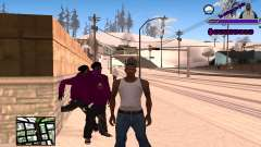 С-HUD Ghetto for GTA San Andreas