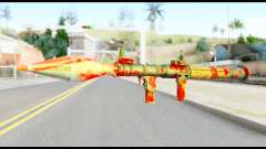 Rocket Launcher with Blood for GTA San Andreas