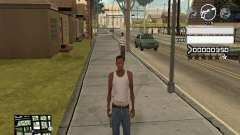 C-HUD Gray for GTA San Andreas