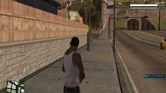 Simple C-HUD for GTA San Andreas
