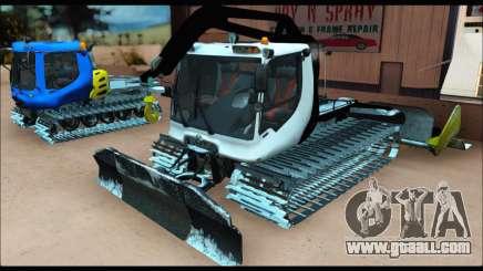 PistenBully 600S for GTA San Andreas