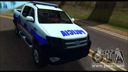 Ford Ranger P.B.A 2015 Text2 for GTA San Andreas