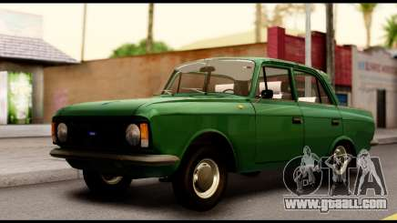Moskvich 412 Green Classic for GTA San Andreas