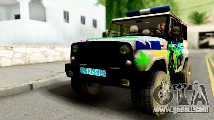 UAZ hunter 315195 for GTA San Andreas