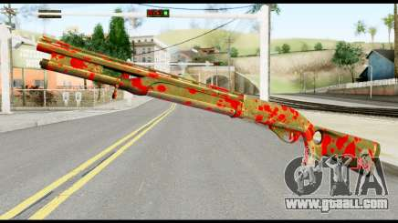 Combat Shotgun with Blood for GTA San Andreas