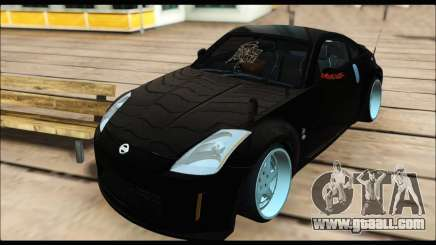 Nissan 350Z Rock for GTA San Andreas